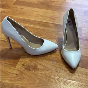 Shoes - White stilettos